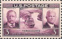 [The 25th Anniversary of the Panama Canal, type LY]
