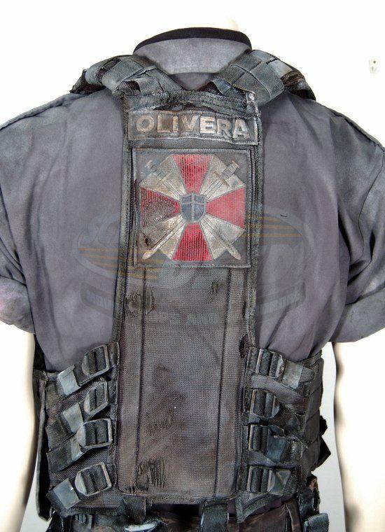 Resident Evil Apocalypse Carlos Olivera Uniform Screenused Com