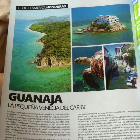 Guanaja, Bay Islands, Honduras (Cromos Magazine april 2012)