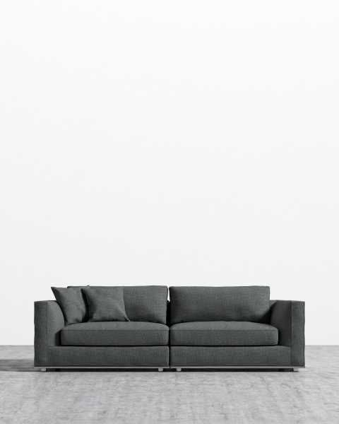70 S Vintage 6pc Selig Modular Sectional Sofa Mid Century Modern