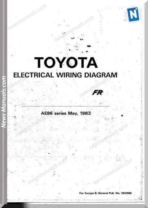 Toyota Corolla Fr Electric Wiring Diagram | Toyota corolla, Toyota,  Electricity | Ae86 Wiring Diagram |  | Pinterest