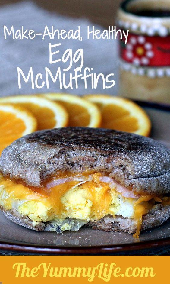 Copycat Egg McMuffins