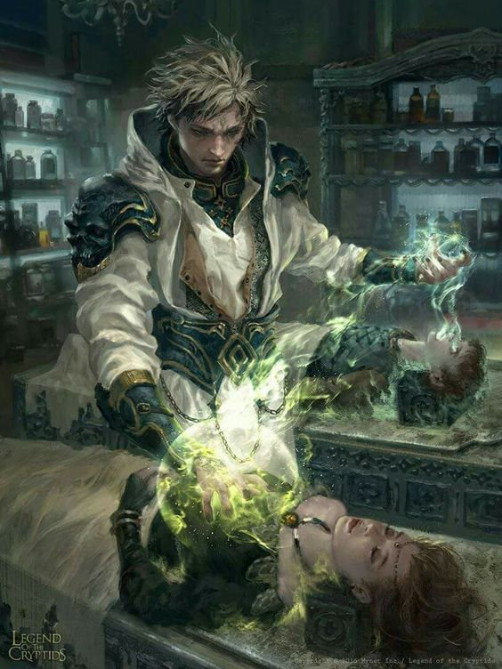 """""""It's a cruel world where magic thrives. Doctors are little more than glorified murderers... Trading the life of one for another... We all have our regrets. This one is mine."""""""