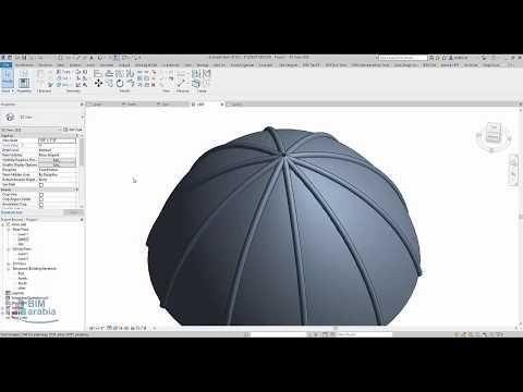Model Domes In Revit عمل قبة From Wordpress Http Bit Ly 2psklfn Bimarabia Dome Model Youtube