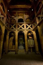 Image result for interior stave church