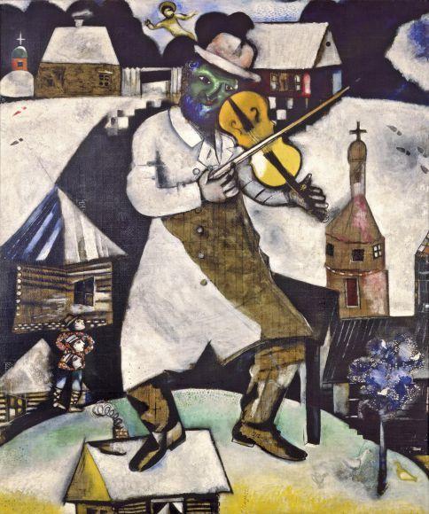 El Violinista - Marc Chagall
