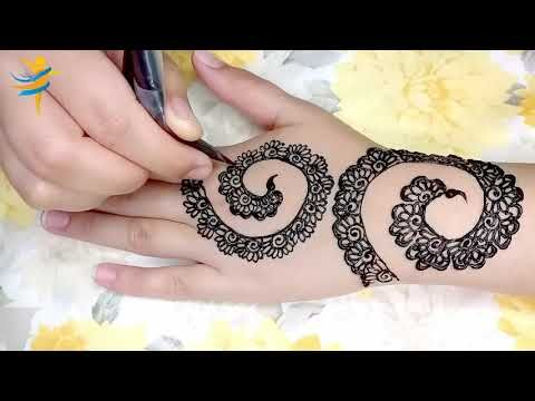 Simple Back Hand Mehndi Design Mehndi Design For Beginners Stylish New Henna Design Simple Mehndi Designs Bridal Mehndi Designs Henna Designs