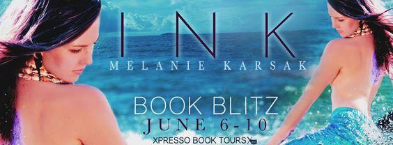(¯`'•.¸(¯`'•.¸ Book Blitz & Giveaway ~ Ink: A Mermaid Romance by Melanie Karsak ¸.•'´¯)¸.• '´¯)