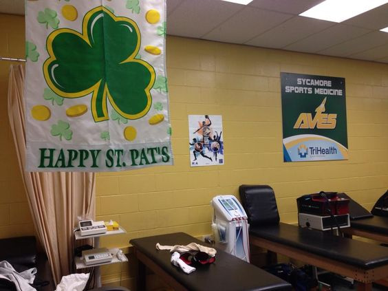 """Happy St Patrick's Day and National Athletic Training Month ! #NATM2015 #GCATA"""
