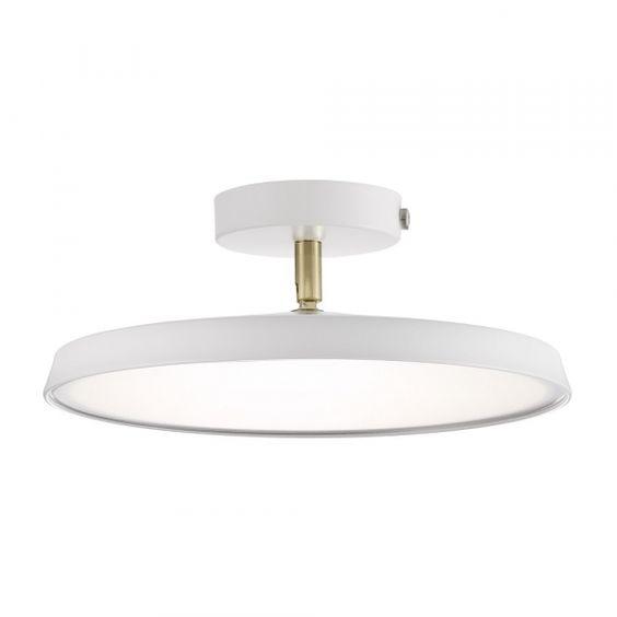 Nordlux Alba Pro 30 Mennyezeti Lampa Szabalyozhato Led Modul 2700k 14w Feher Nordlux White Light Led