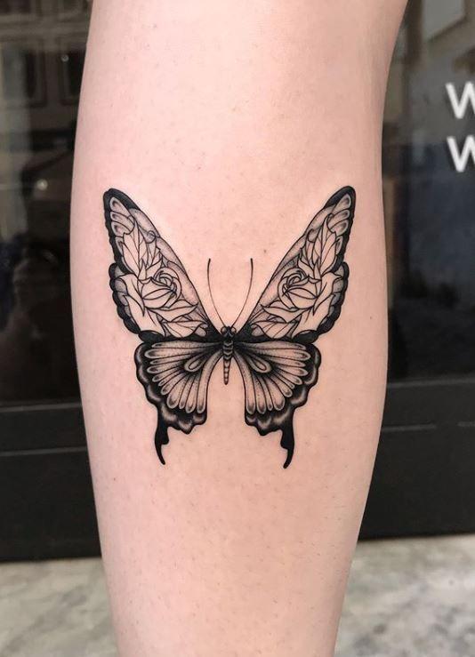 Schmetterling Tattoo Butterfly Butterflytattoo Cutejewelry