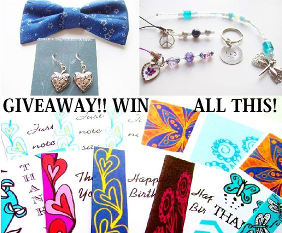 Win a Prize Pack from 3 Etsy shops! Ends 6/26/13.