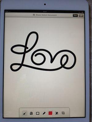 Silhouetteira Voadora: Silhouette no iPad - Criando seus próprios desenhos