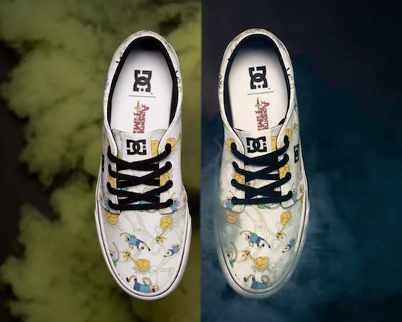 DC x 'Adventure Time' Shoes Will Make You Say SHZMOWZOW!