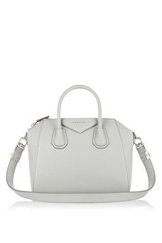 Givenchy Small Antigona bag in gray textured-leather | NET-A-PORTER