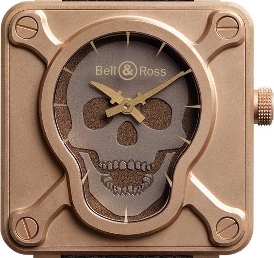 Auf 500 Stück limitiert: BR 01 Skull Bronze