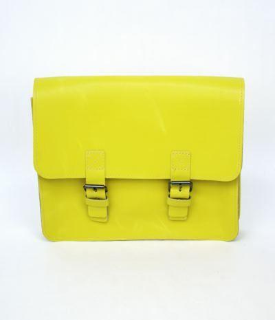 "Safari Mini Satchel ""Butterfly"", Mellow Yellow"