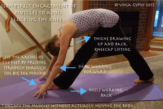 Yoga Gypsy: Yoga Tip Tuesdays: How to keep a straight leg without locking the knees