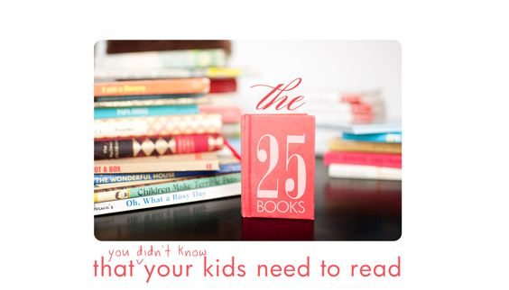 25 Great Children's Books to Read by Age - Belinda's {Great} Ideas