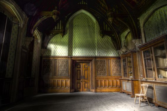 The green room - I would love this as a library.