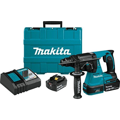 Makita Xrh01t 18v Lxt Lithium Ion Brushless Cordless 1 Cordless Drill Reviews Hammer Drill Makita