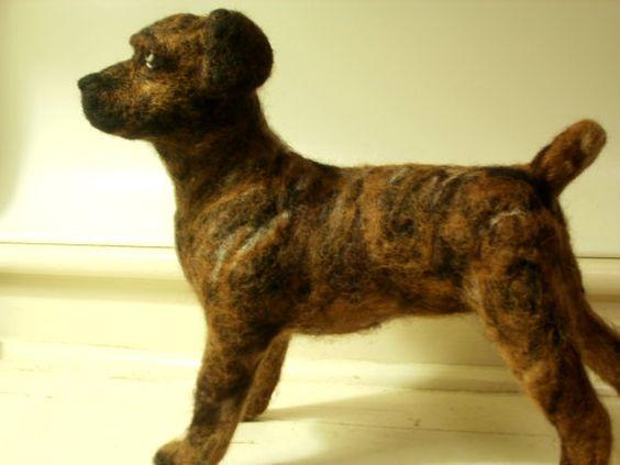 Artist Needle Felted Cane Corso Mastiff Dog by LaCharmour on Etsy