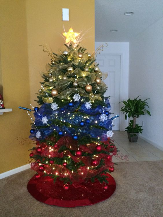 Mi hermoso árbol, es un tributo a mi patria Venezuela!!