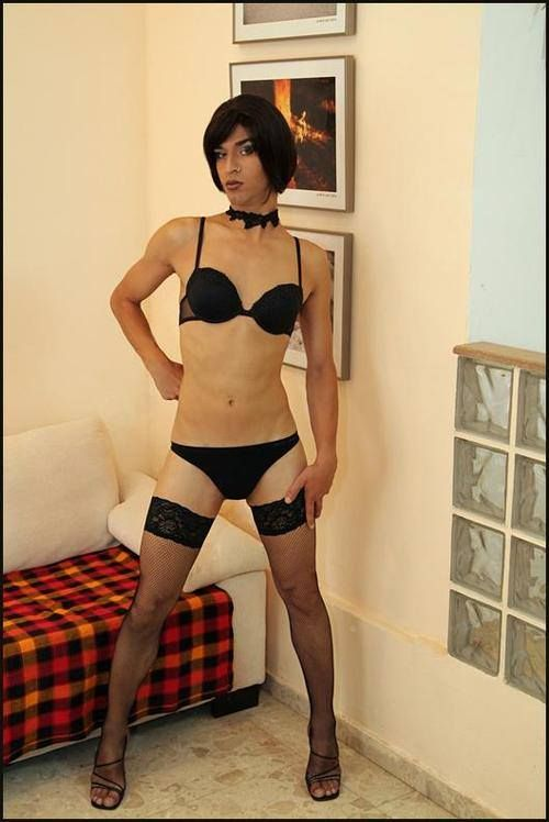 Join. happens. Crossdressers in pantyhose and heels you mean?