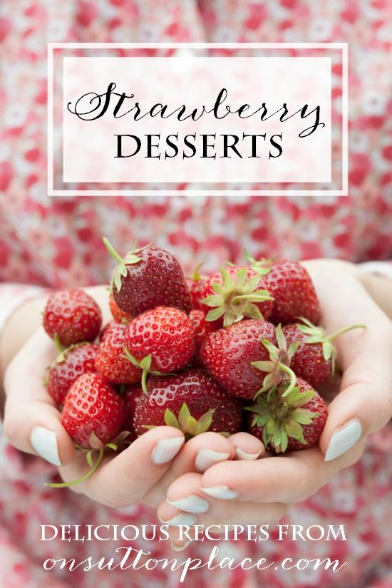 Fun and easy summer dessert recipes