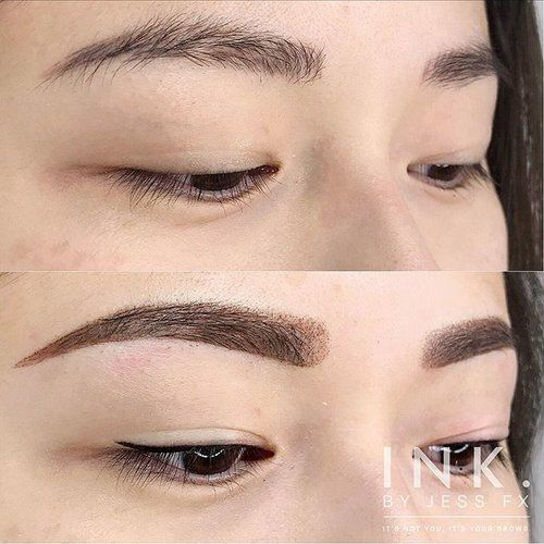 Permanent Makeup Eyeliner Eyebrow Tattoo In Vancouver Ink By Jess Fx Permanent Makeup Eyel Permanent Makeup Eyeliner Makeup Eyeliner No Eyeliner Makeup