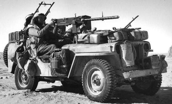 LRDG / LONG RANGE DESERT GROUP NORTH AFRICA 1943
