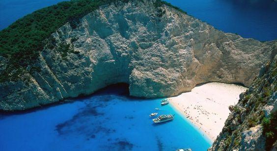 Navagio Beach (Shipwreck Beach), Zakynthos - Greek Island