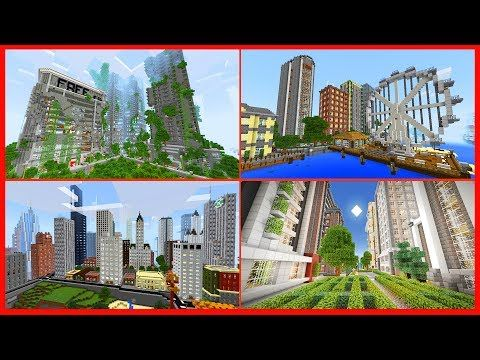 Top 10 Biggest Mcpe Village Seeds Of All Time Strongholds More Minecraft Pe 1 1 4 Youtube Minecraft Pe City Maps Best Cities