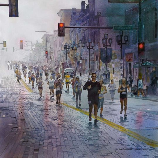 John Salminen earned his Bachelor's Degree and Master's Degree from the University of Minnesota. He lives and works in Duluth, Minnesota. He teaches workshops, makes presentations and participates in painting events around the world.