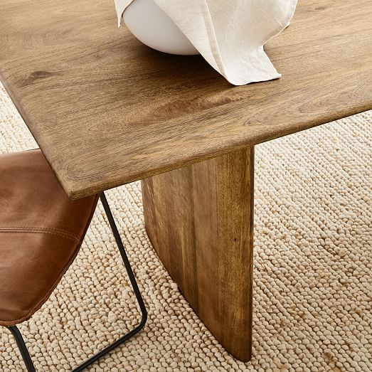 Anton Solid Wood Dining Table Solid Wood Dining Table Dining
