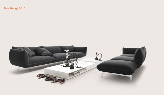 if i get a sofa like this.... i would be a very happy man... Jalis by COR
