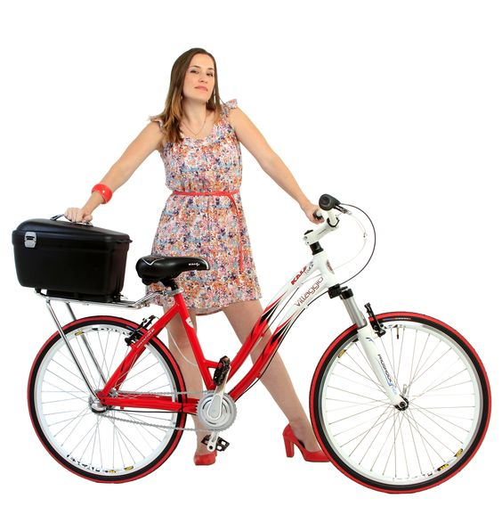 Baú para bicicletas Box Bike KALF. Carregue tudo o que precisar de forma simples, segura e confortável. Evita molhar seus objetos, evita dor nas costas e você pode carregar facilmente para qualquer lugar com apenas um click. #bicicleta #bicycle #bike #box #pannier #basket #bag #rack #boxbike
