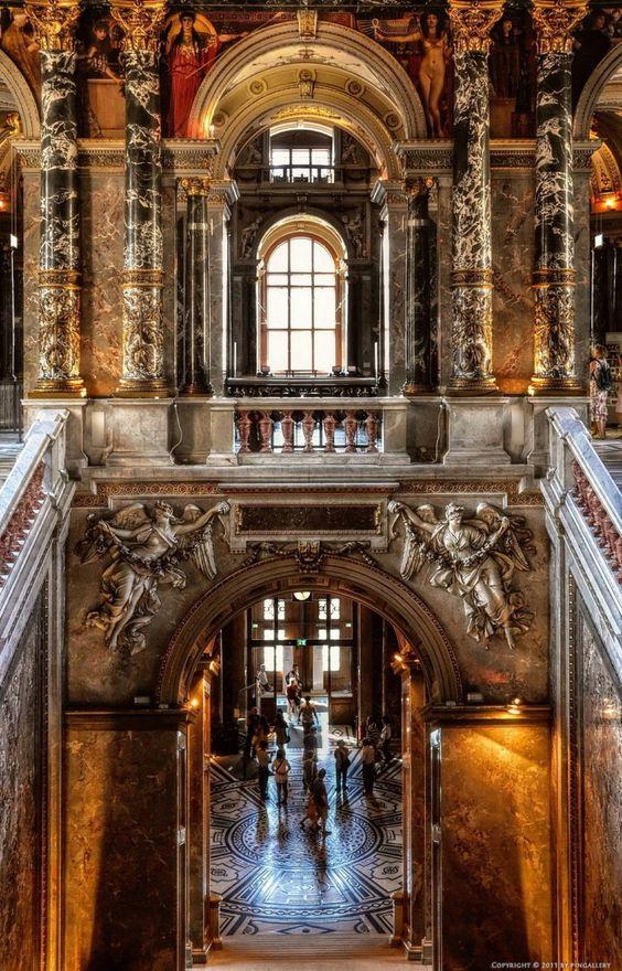 lostsplendor: Museo de Historia del Arte de Austria, Viena.  Por pingallery