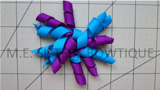 mini corker bow $1.75 or 2 for 3$ 6 strands of 3 inch ribbon www.facebook.com/M.E.Sistersbowtique