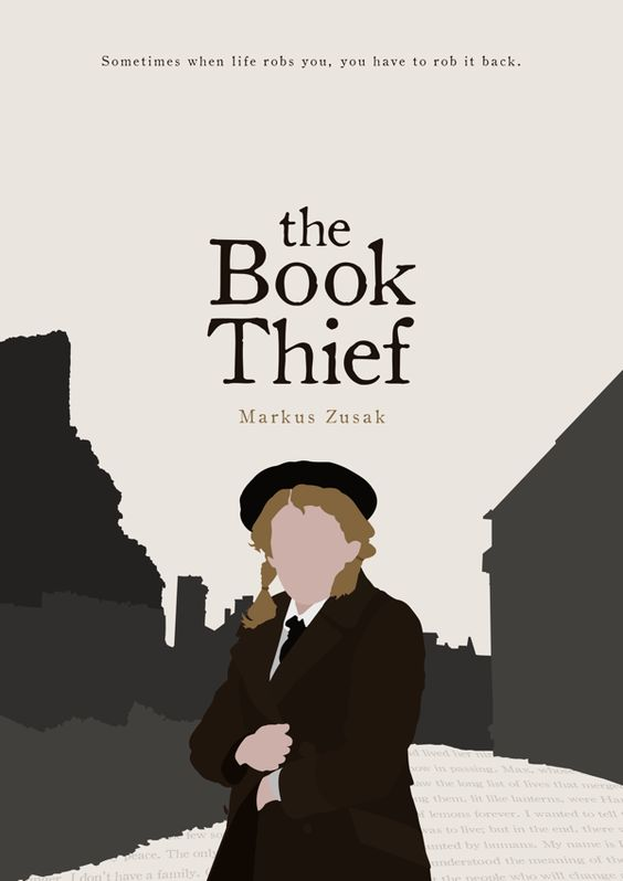 The Book Thief cover redesign by Alicia Mundy