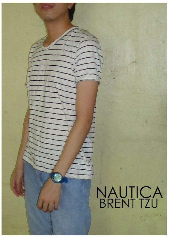 nautica // folded pants