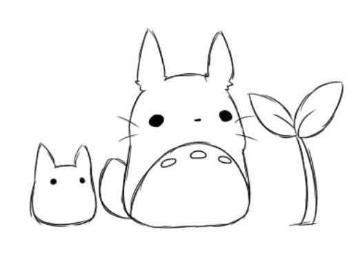 Fantastisch Meine Nachbar Totoro Malvorlagen Fotos - Entry Level ...