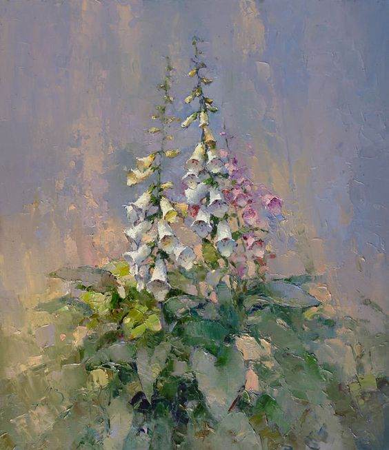 Digitalis<br><i>(price request)</i> - Alexi Zaitsev - Sale of paintings and other art works: