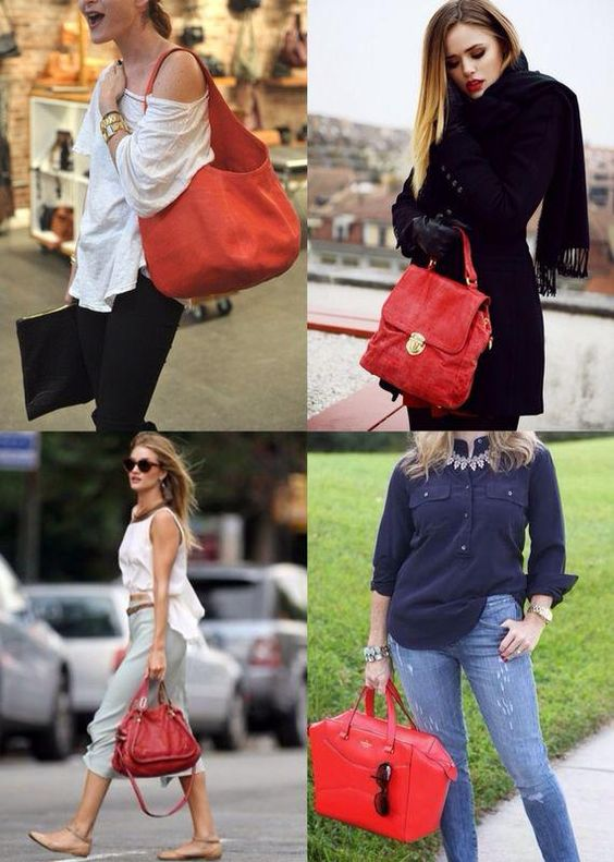 fashiontrademoda | Get the look: bolsa vermelha