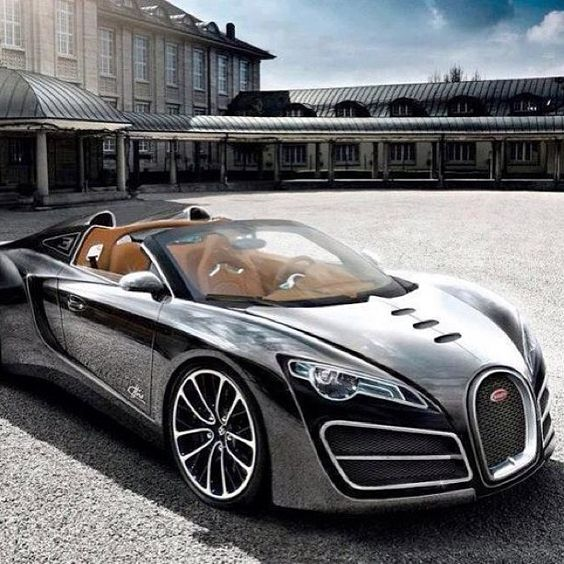 The Sublime Bugatti #Veyron Supersport