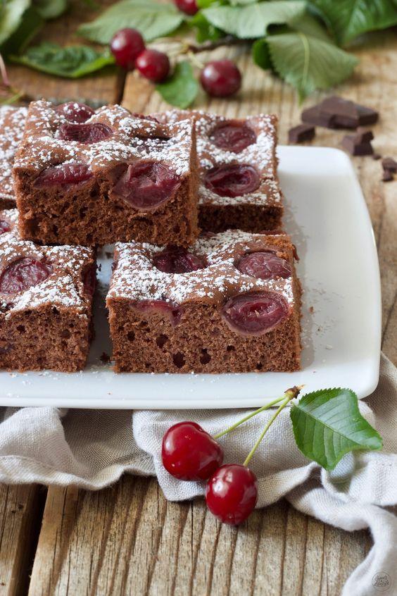 Schoko Kirsch Kuchen Rezept Schoko Kirsch Kuchen Saftiger Schoko Kirsch Kuchen Und Kuchen Schoko