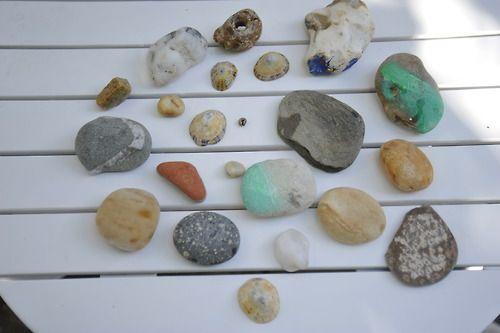 Steine vom Atlantik