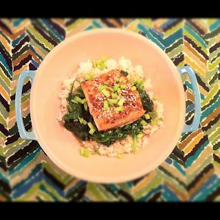 Sesame Salmon Bowl with Lime Honey Drizzle | Joy of cooking, kitchen ...