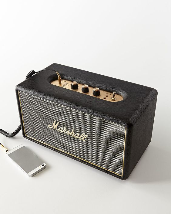 10 Unexpected, High-Tech Gifts For Him » Vintage-inspired Marshall Stanmore…