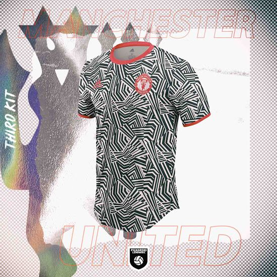Crazy Dazzle Camo Manchester United 20 21 Third Kit Concept Revealed Footy Headlines In 2020